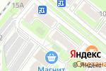 Схема проезда до компании Хамелеон в Москве