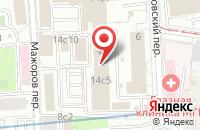Схема проезда до компании Интерторг в Москве