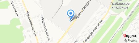 Донецкметаллопром ПАО на карте Донецка