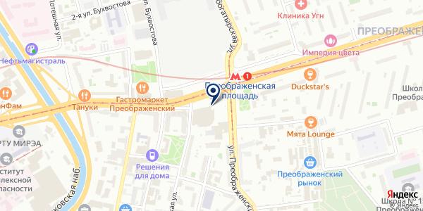СтройБурКом на карте Москве