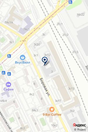 ТФ КАНЭ на карте Москвы