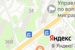 Схема проезда до компании Магазин фастфудной продукции в Видном