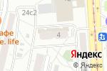 Схема проезда до компании Мёбиус в Москве