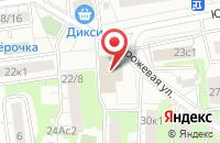 Схема проезда до компании Айконмедиа в Москве