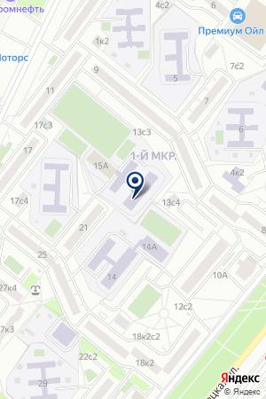 ШКОЛА СРЕДНЕГО ОБЩЕГО ОБРАЗОВАНИЯ № 495 на карте Подольска