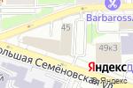 Схема проезда до компании АСВ в Москве