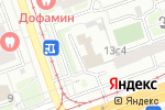 Схема проезда до компании Руселф в Москве