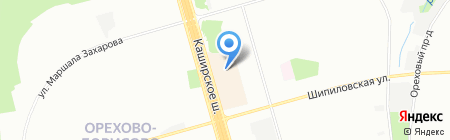 Радуга на карте Москвы