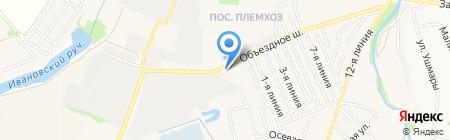 СТРОЙМАГ на карте государственного племенного завода