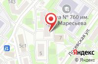 Схема проезда до компании Мир Новостей Принт в Москве