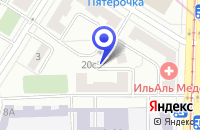 Схема проезда до компании ПТФ КРИСТАЛИТ КОРП в Москве
