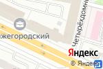 Схема проезда до компании Мир шкафов в Москве