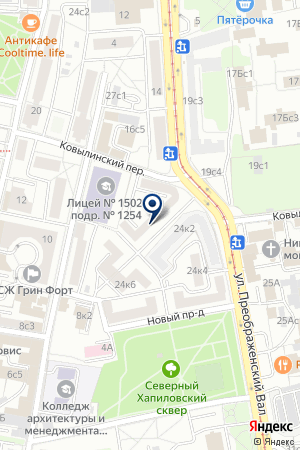 ТФ А И Б ТЕХНИК на карте Москвы