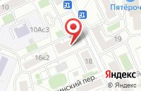 Схема проезда до компании Сова-Текстиль в Москве