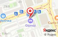 Схема проезда до компании Управляющая компания Инжстрой в Москве