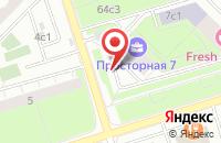 Схема проезда до компании Музей русских икон в Москве