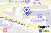 Схема проезда до компании ПТФ ЛЕСОРУБ в Москве