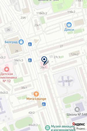 ПОЛИКЛИНИКА № 204 на карте Дедовска
