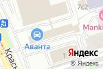 Схема проезда до компании Невский Банк в Москве