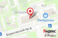 Схема проезда до компании Мотор Плюс в Москве