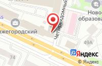 Схема проезда до компании Стройдизайн в Москве