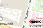 Схема проезда до компании СтройЛифтКомплект в Москве