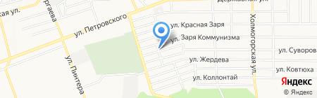 Черемшинный магазин на карте Донецка