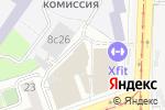 Схема проезда до компании Авиа Плаза в Москве