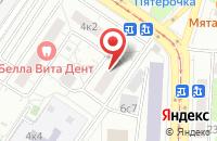 Схема проезда до компании Топаз в Москве
