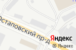 Схема проезда до компании Спецавтокран в Москве