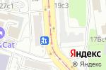 Схема проезда до компании ЦарьГранит в Москве