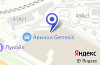 Схема проезда до компании АВТОСЕРВИСНОЕ ПРЕДПРИЯТИЕ АВТОКАРАТ в Москве