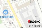 Схема проезда до компании КУРС-ИТ в Москве
