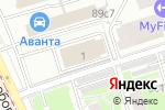 Схема проезда до компании Аналитическое бюро оформления и продажи недвижимости в Москве