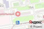 Схема проезда до компании МЕДИЦИНСКИЙ ДИАГНОСТИЧЕСКИЙ ЦЕНТР-СПЕЦИАЛЬНЫЙ МДЦ-С в Москве