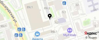 Автомобильный Дом Моды на карте Москвы