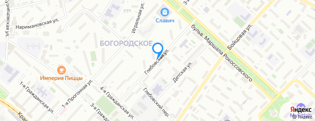 Глебовская улица
