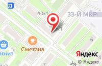 Схема проезда до компании Эстейтфинанс в Москве