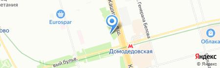 Аптека от склада на карте Москвы