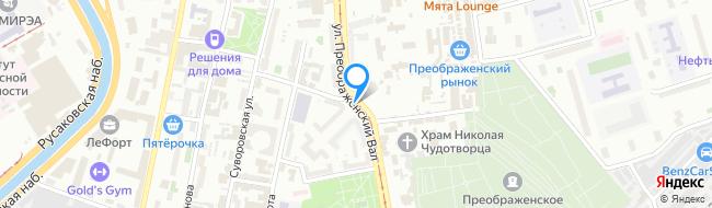 улица Преображенский Вал