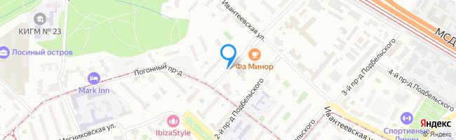 проезд Подбельского 1-й