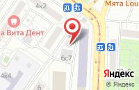Схема проезда до компании Трувор в Москве