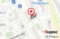 Схема проезда до компании Строби в Москве