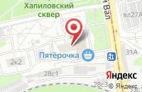 Схема проезда до компании Энергомонтажстрой в Москве