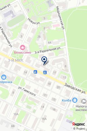 ЖКХ МЕТАЛЛУРГ на карте Видного
