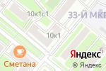 Схема проезда до компании Мир Школьника в Москве