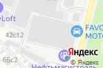Схема проезда до компании Favorit Motors в Москве