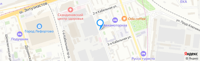 проезд Кабельный 2-й