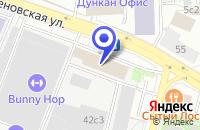 Схема проезда до компании ПТФ МЕБЕЛЕВ в Москве