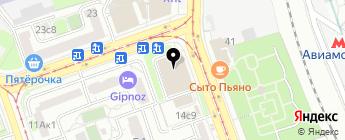 Wroom на карте Москвы